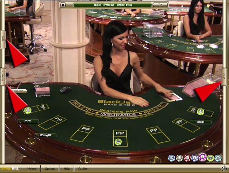 UK Blackjack in the online casino
