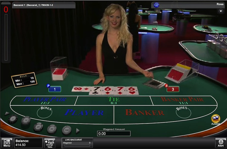 Get your Baccarat Bonus