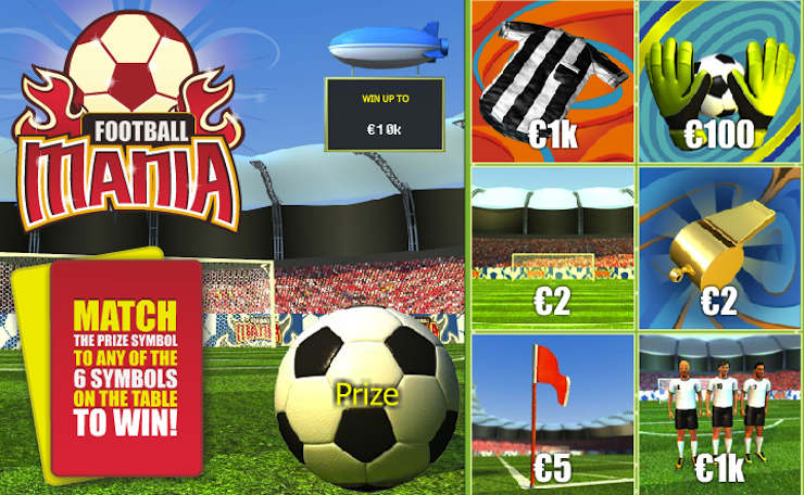 Play Football Mania Scratch Online at Casino.com Australia