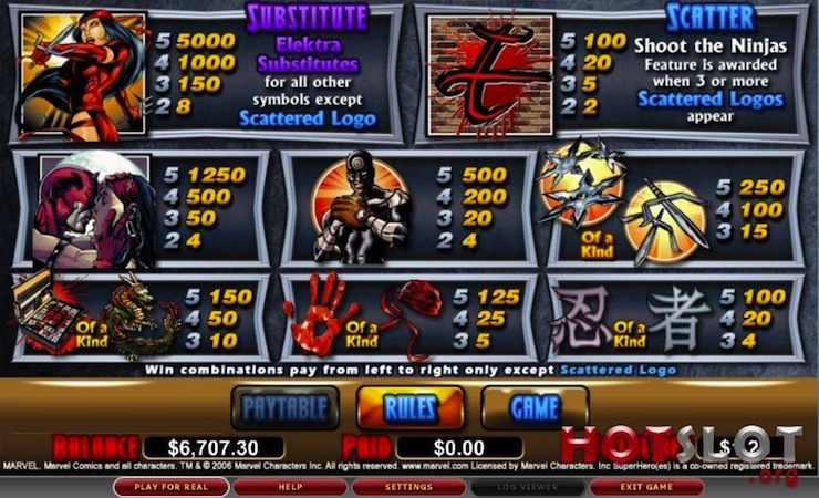 You can play casino slot free