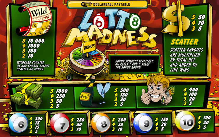 Play Lotto Madness Scratch Online at Casino.com Canada