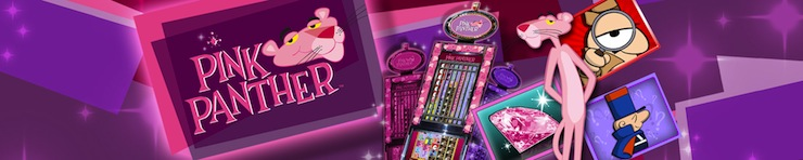 Play casino slot Pink Panther