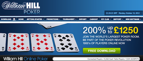 Play online Poker William Hill Poker