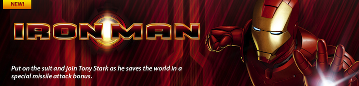 Slot Iron Man play now!